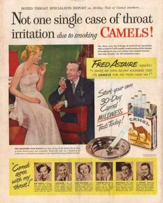 Camel's Cigarettes – Fred Astaire (1949)