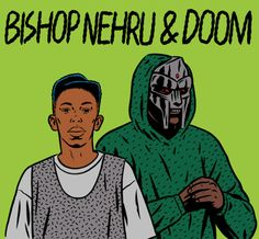 Another DOOM collaboration in the works. This time, with Bishop Nehru for Lex Records!