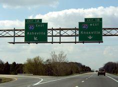 nashville interstate signs   Interstate-Guide: Interstate 81