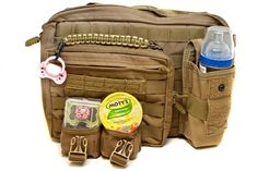 BUILD YOUR OWN TACTICAL DIAPER BAG