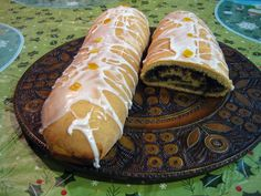 Makowiec:  Poppy Seed Roll:  This is a tradition not only in Polish homes, but in other Slavic countries as well. We make this every Easter.