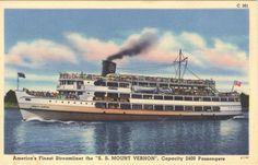 Wilson Lines SS Mount Vernon.
