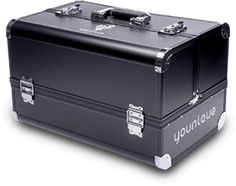 Younique makeup trunk - This is everything! Sell 10 FLAWLESS FOUR Collections - April's Monthly Kudos and this trunk is yours! Oh not a Presenter I can help you with that! Go to my website and click Join! Hurry these collections will Sell Out Fast! www.youniquebydeena.com