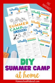 Summer Camp Themes, Summer Camp Crafts, Summer Camps For Kids, Summer Diy, Sea Activities, Educational Activities, Dinosaur Activities, Diy Projects For Kids, Crafts For Boys