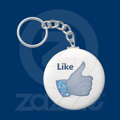 Like Button Keychains