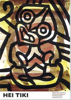 Maori Culture Campaign by Karen Hamilton, via Behance - This is Hei Tiki :-)