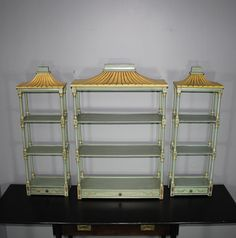 SALE! Chelsea House Chinoiserie Hanging Shelves —