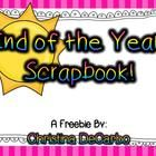 Free! This cute and simple end-of-the-year scrapbook is perfect for your students to create and complete during that last week of school! There is a cove...