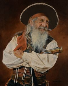 Amiable Pirate by Karen Yee http://www.artistrising.com/products/586042/amiable.htm