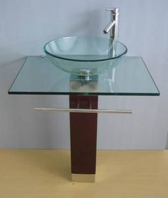 48 Best Glass Sink Vanity Images Glass Bathroom Bathrooms Glass