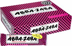 Abba Zaba Strawberry Taffy OMG, where can I buy this. Abba-Zaba's are my favorite.