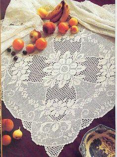 Marifet iltifâta tâbidir..: oval sehpa örtüsü