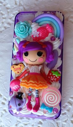 Handmade Decoden Lalaloopsy iPhone 5 Case by PennypantsDecoden