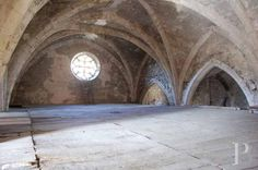 100 km (63 miles) from Montpellier, 14th century church - monastery for sale France - in South-West, Périgord, Quercy, Limousin - Patrice Besse Castles and Mansions of France is a Paris based real-estate agency specialised in the sale of Religious edifices.