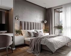 What to Expect From Beautiful Modern Grey Bedroom Grey Decor? Personalize the decor it is straightforward to change or remove. The bedroom decor should match with the remaining portion of the home. DIY bedroom decor is going to be a… Continue Reading → Modern Bedroom, Luxury Furniture, Modern Grey Bedroom, Taupe Bedroom, Bedroom Layouts, Luxury Bedroom Furniture, Home Decor, Luxurious Bedrooms, Home Bedroom