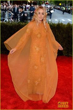 Ashley Olsen at the met gala 2013  I don't care who she's wearing my queen looks AMAZING