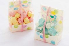 Amy Atlas bakery boxes favor bags