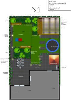 kindvriendelijke tuin met veel zitgelegenheid,veranda en verhoogde borders