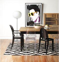Replica Philippe Starck Victoria Ghost Chair by Ascot - Matt Blatt