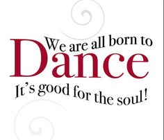 we are all born to Dance... just ask any body! www.niaaustralia.com.au