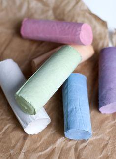 UKKONOOA: Kotitekoiset liidut / Homemade Chalk