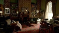 Sherlock and John's parlor