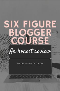 An honest review of the Six Figure Blogger course by Create and go. #sixfigureblogger Make Money Blogging, Way To Make Money, Successful Online Businesses, Blog Names, Go Getter, Affiliate Marketing, Online Courses, About Me Blog, Teaching