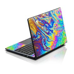 DecalGirl Acer AC700 ChromeBook skins feature vibrant full-color artwork that helps protect the Acer AC700 ChromeBook from minor scratches and abuse without adding any bulk or interfering with the device's operation. This skin features the artwork World of Soap by Andreas Stridsberg - just one of hundreds of designs by dozens of talented artists from around the world.