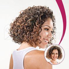 Cortes de cabelo médio do Beleza Natural. Corte 12 CM