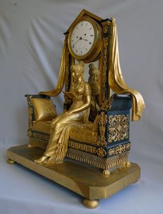 This superb clock almost certainly first came to England immediately it was made, in about 1805 to French Royalist expatriots or to English aristocracy. France circa 1805. 21.25