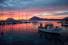 Greece Patras sunset !