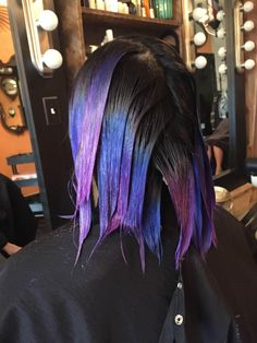 oil slick hair color diy - Google Search