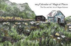 2013 Calendar of Magical Places
