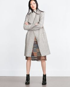Image 1 of WOOL COAT from Zara