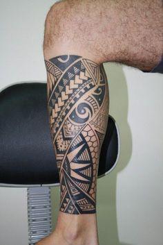 polynesian tattoos design for men