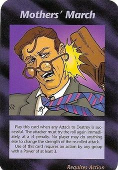 Illuminati Card Game -Mothers' March