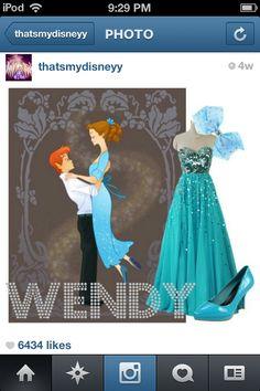 #wendy #disneybound #peterpan