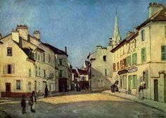 Platz in ArgenteuilbyAlfred Sisley   Size: 47x66 cm Medium: oil on canvas