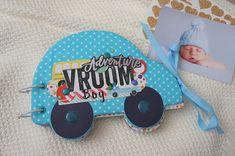 Baby Boy Photo Album Mini Hand Made Baby Memory Book Baby