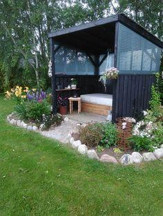 De 119 Bedste Billeder Fra Haven Ideer Til Overdkket Terrasse Backyard Patio Deck Gazebo