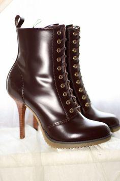 Combining my two favs: Doc Martens & heels :)