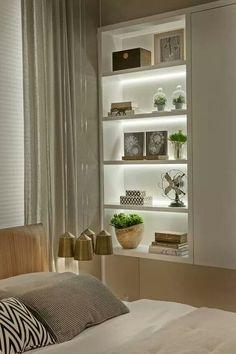 Dining Room Storage With Floating Shelves Home Bedroom, Bedroom Decor, Bedrooms, Dining Room Storage, Interior Decorating, Interior Design, Living Room Decor, Furniture Design, Home Decor