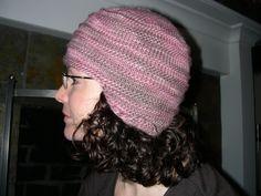 Free Knitting Pattern - Hats: Viking Flap Hat