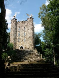 The Tower of Eben-ezer in Bassenge in Belgium - A very mysterious place