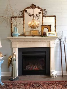 Transitioning+the+Mantel+to+Spring