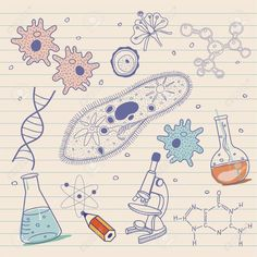Biology sketches background in vintage style is part of Science Background Biology - Millions of Creative Stock Photos, Vectors, Videos and Music Files For Your Inspiration and Projects Science Art, Science And Nature, Science Doodles, Biology Drawing, Sketch Background, Science Background, Zoology, Vintage Fashion, Vintage Style