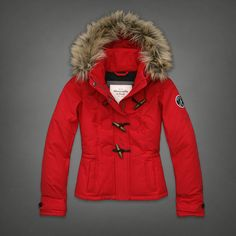 Fur Toggle Jacket | Abercrombie.com | Check out our Pin To Win Challenge at http://on.fb.me/UfLuQd