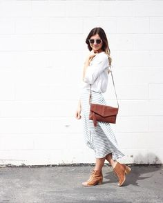 Outfit goals featuring the cutest Leesa ! Skirt $29 Shoes $34
