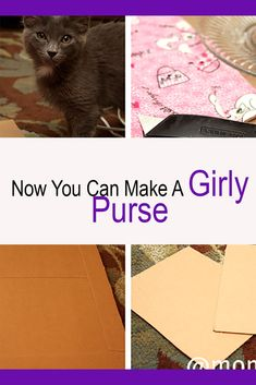 Free and easy do it yourself how to make a purse with very little sewing, crafting knowledge, or skills. Full pictures, step by step instructions for this princess frilly purse How To Make Purses, Crafts For Girls, Craft Activities, Step By Step Instructions, Hair Bows, Girly, Daughter, Make It Yourself, Learning