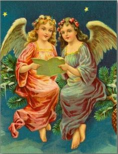 Shop Victorian Angel Christmas Card created by xmasstore.